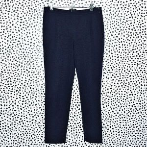 J Crew Martie Navy Blue Slim Crop Pant size 4